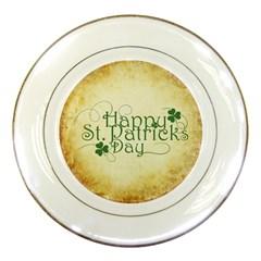 Irish St Patrick S Day Ireland Porcelain Plates by Simbadda