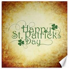 Irish St Patrick S Day Ireland Canvas 12  X 12   by Simbadda