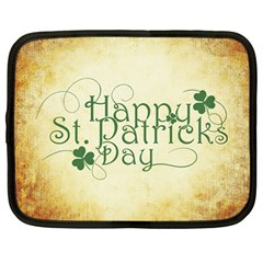 Irish St Patrick S Day Ireland Netbook Case (large) by Simbadda