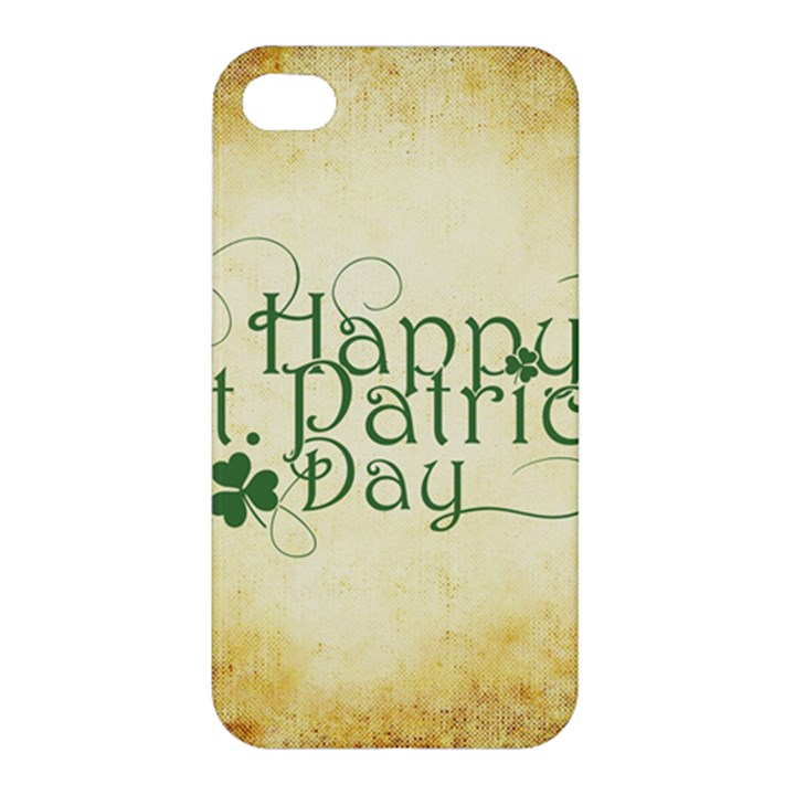 Irish St Patrick S Day Ireland Apple iPhone 4/4S Hardshell Case