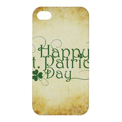 Irish St Patrick S Day Ireland Apple Iphone 4/4s Premium Hardshell Case by Simbadda