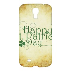 Irish St Patrick S Day Ireland Samsung Galaxy S4 I9500/i9505 Hardshell Case by Simbadda