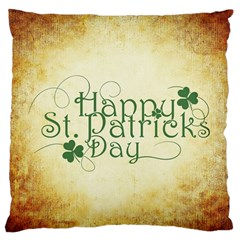 Irish St Patrick S Day Ireland Standard Flano Cushion Case (two Sides) by Simbadda