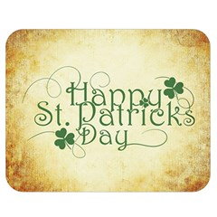 Irish St Patrick S Day Ireland Double Sided Flano Blanket (medium)  by Simbadda