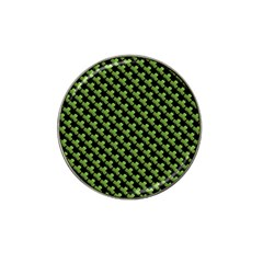 St Patrick S Day Background Hat Clip Ball Marker (4 Pack) by Simbadda