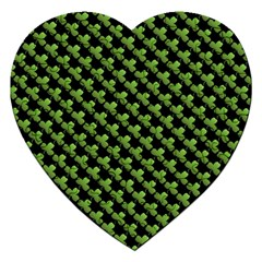 St Patrick S Day Background Jigsaw Puzzle (heart) by Simbadda