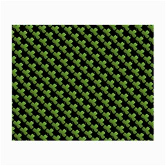 St Patrick S Day Background Small Glasses Cloth (2 Side) by Simbadda