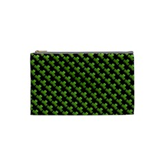 St Patrick S Day Background Cosmetic Bag (small)  by Simbadda
