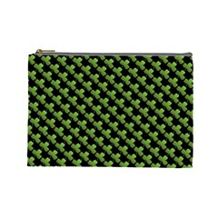 St Patrick S Day Background Cosmetic Bag (large)  by Simbadda