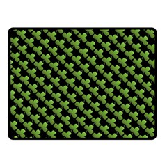 St Patrick S Day Background Fleece Blanket (small) by Simbadda