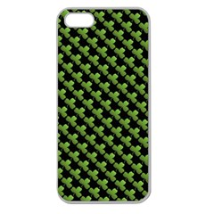 St Patrick S Day Background Apple Seamless Iphone 5 Case (clear) by Simbadda