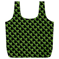 St Patrick S Day Background Full Print Recycle Bags (l)  by Simbadda