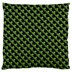 St Patrick S Day Background Large Flano Cushion Case (two Sides) by Simbadda