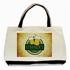 Irish St Patrick S Day Ireland Beer Basic Tote Bag by Simbadda