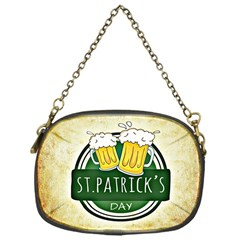 Irish St Patrick S Day Ireland Beer Chain Purses (one Side)  by Simbadda