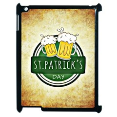 Irish St Patrick S Day Ireland Beer Apple Ipad 2 Case (black) by Simbadda