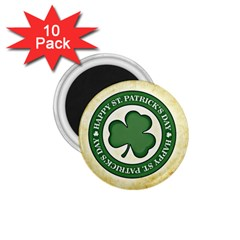 Irish St Patrick S Day Ireland 1 75  Magnets (10 Pack)  by Simbadda