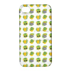 St Patrick S Day Background Symbols Apple Iphone 4/4s Hardshell Case With Stand by Simbadda