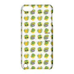 St Patrick S Day Background Symbols Apple Ipod Touch 5 Hardshell Case With Stand by Simbadda