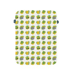 St Patrick S Day Background Symbols Apple Ipad 2/3/4 Protective Soft Cases by Simbadda