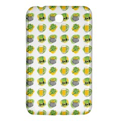 St Patrick S Day Background Symbols Samsung Galaxy Tab 3 (7 ) P3200 Hardshell Case  by Simbadda