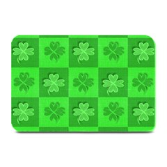 Fabric Shamrocks Clovers Plate Mats by Simbadda