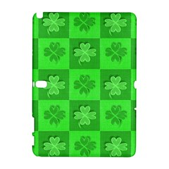 Fabric Shamrocks Clovers Galaxy Note 1 by Simbadda