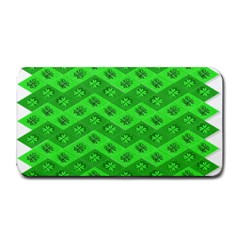 Shamrocks 3d Fabric 4 Leaf Clover Medium Bar Mats by Simbadda