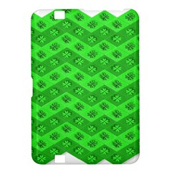 Shamrocks 3d Fabric 4 Leaf Clover Kindle Fire Hd 8 9  by Simbadda
