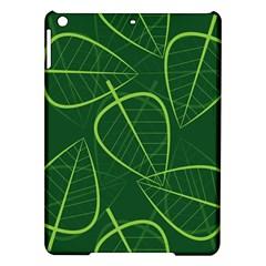 Vector Seamless Green Leaf Pattern Ipad Air Hardshell Cases by Simbadda