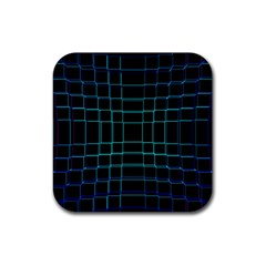 Abstract Adobe Photoshop Background Beautiful Rubber Square Coaster (4 Pack)  by Simbadda