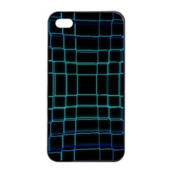 Abstract Adobe Photoshop Background Beautiful Apple Iphone 4/4s Seamless Case (black) by Simbadda