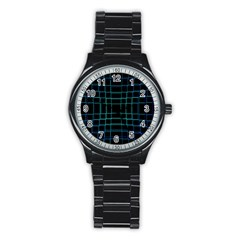 Abstract Adobe Photoshop Background Beautiful Stainless Steel Round Watch by Simbadda