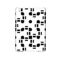 Black And White Pattern Ipad Mini 2 Hardshell Cases by Simbadda