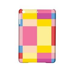 Colorful Squares Background Ipad Mini 2 Hardshell Cases by Simbadda