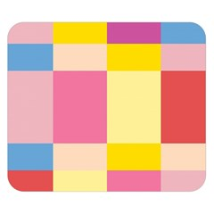 Colorful Squares Background Double Sided Flano Blanket (small)  by Simbadda