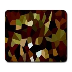 Crystallize Background Large Mousepads by Simbadda