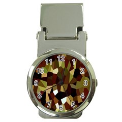 Crystallize Background Money Clip Watches by Simbadda