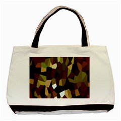 Crystallize Background Basic Tote Bag by Simbadda