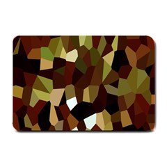 Crystallize Background Small Doormat  by Simbadda