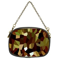 Crystallize Background Chain Purses (one Side)  by Simbadda