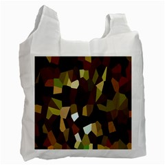 Crystallize Background Recycle Bag (one Side) by Simbadda