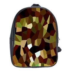 Crystallize Background School Bags(large)  by Simbadda