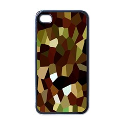 Crystallize Background Apple Iphone 4 Case (black) by Simbadda