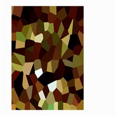Crystallize Background Small Garden Flag (two Sides) by Simbadda