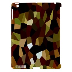 Crystallize Background Apple Ipad 3/4 Hardshell Case (compatible With Smart Cover) by Simbadda