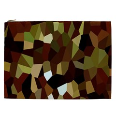 Crystallize Background Cosmetic Bag (xxl)  by Simbadda