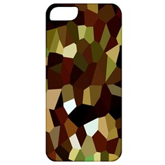 Crystallize Background Apple Iphone 5 Classic Hardshell Case by Simbadda