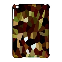 Crystallize Background Apple Ipad Mini Hardshell Case (compatible With Smart Cover) by Simbadda