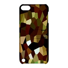 Crystallize Background Apple Ipod Touch 5 Hardshell Case With Stand by Simbadda